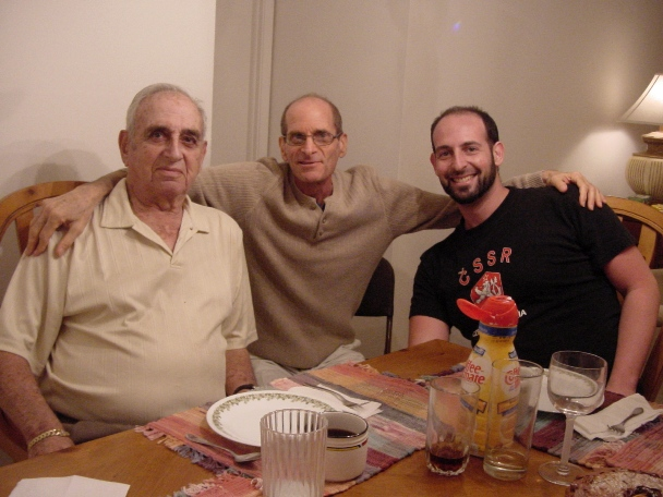 Grandpa Gilbert, Uncle Marc and Brother Adam