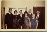 Da, Mom, Marc, Grandma Evelyn ( Gilly's second wife ), Grandpa Gilbert, Nat & Goldie Fisher