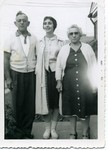 Mom with Nat and Goldie Fisher