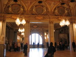 Big ol' ballroom. Bouguereau's
