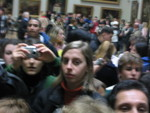 the swarming hordes behind me