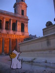 Bumperpup at St. Sulpice