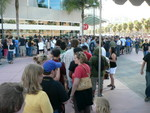 The line to get in.  No, really.