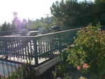 the front deck